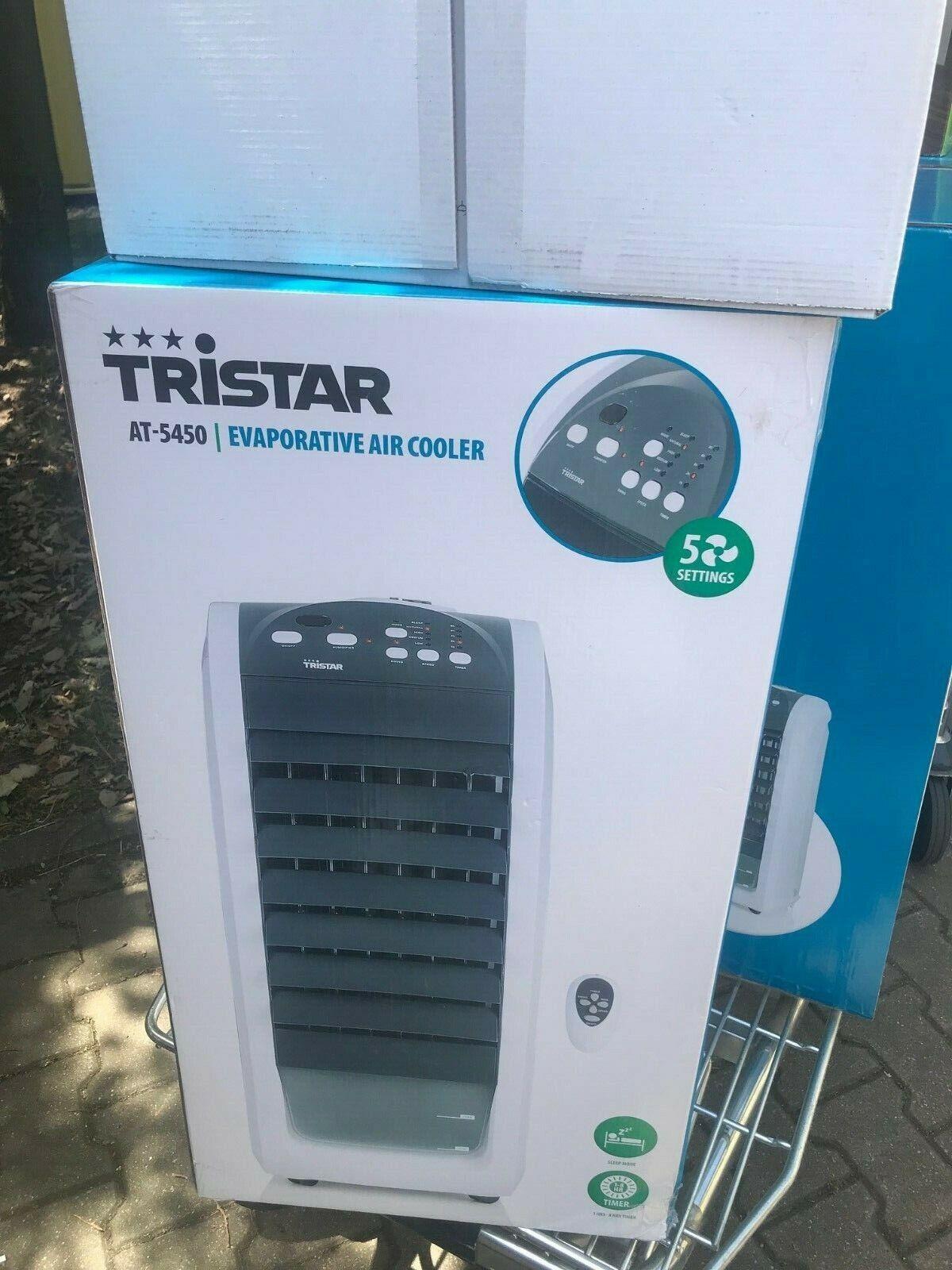 Tristar Luftkühler AT-5450 Klimagerät Kühlgerät fahrbarer VenStandventilator Neu
