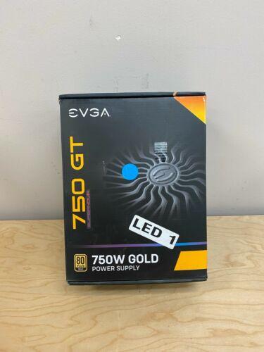 EVGA SuperNOVA 750 GT 80 Plus Gold 750W Power Supply EUC