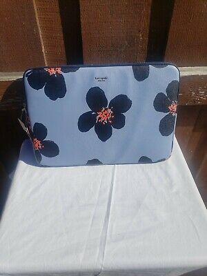 "NWT Kate Spade 15"" Sylvia Grand Flora Universal Laptop Case Sleeve Computer Bag"