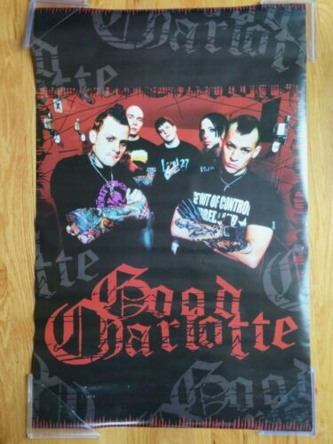 """2004 GOOD CHARLOTTE """"The Chronicles Life & Death"""" Poster"""