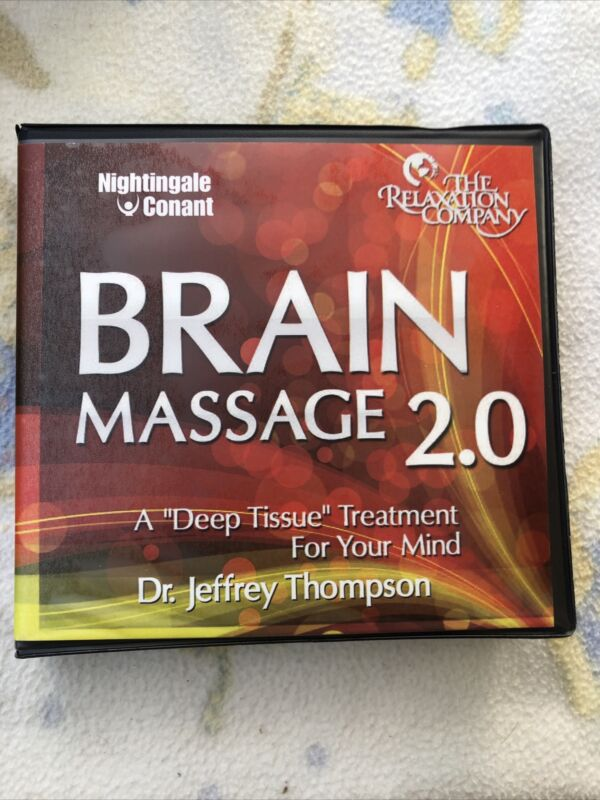 BRAIN MASSAGE 2.0 A Deep Tissue Treatment For Your Mind 11 Disc CD Audio Set