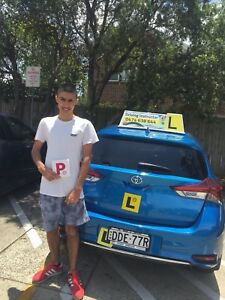 Automatic driving lesson for Learner drivers