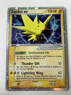 Zapdos EX #033 Holo Nintendo Black Star Promos NM/M Mint Pokemon Card