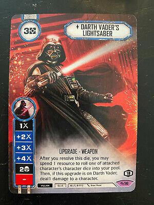 Star Wars Destiny: Darth Vader's Lightsaber Organized Play Promo Card*