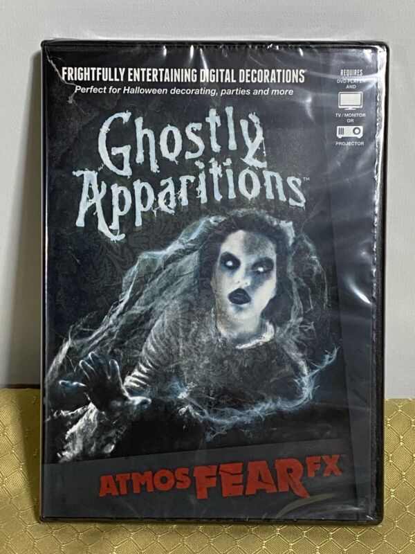 Ghostly Apparitions~NEW! ~Digital Decorations~FACTORY SEAL! Free Shipping!