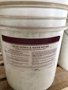 Dust down and water wetter - soluble spreader and wetting agent