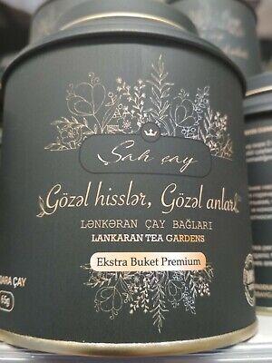 Best gift, Shah Tea - Azerbaijanian premium black tea 65gr, 100% organic tea