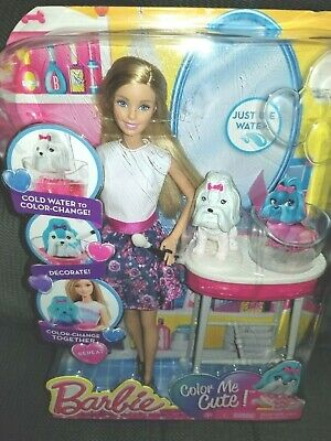 Barbie Color Me Cute Doll Puppy Dog and Accessories