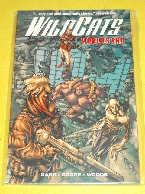 WILDCATS WORLDS END GAGE GOOGE WOODS WILDSTORM GRAPHIC NOVEL 9781401223632