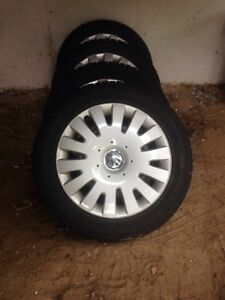 Ice and snow tire 205/55R16
