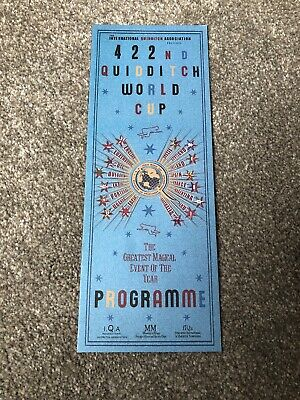 Harry Potter - Licensed Genuine Replica - Quidditch World Cup Programme