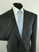 Men's Greenwoods Elite Grey Stripe Suit 46 Reg W46 L28.5 - greenwoods - ebay.co.uk