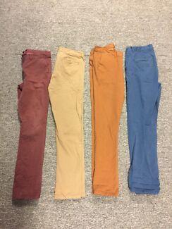 Men's skinny chino pants