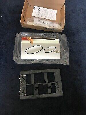 New Geberit Gloss chrome Kappa 20 dual flush plate 115.228.21.1