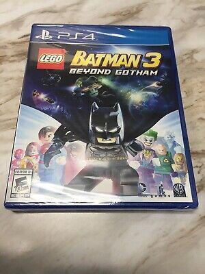 LEGO Batman 3 Beyond Gotham Sony PlayStation 4 BRAND NEW SEALED! Disc Loose