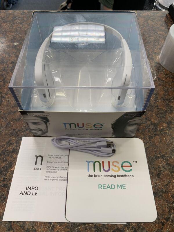 Muse The Brain Sensing Headband - Meditation HeadsetQ21