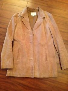 Ladies Suede Jacket---size large