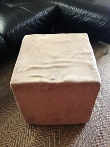 Beige Ottoman/foot stool Bexley North Rockdale Area Preview