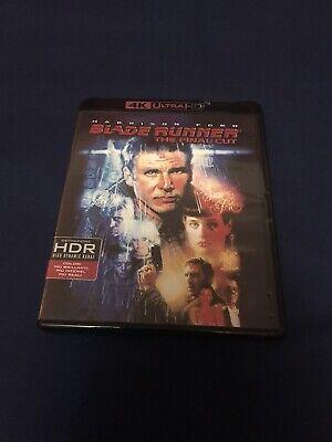 Bladerunner The Final Cut 4K UHD Blu Ray Harrison Ford Star Wars Indiana Jones