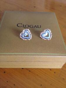c83a06322 Clogau Welsh Rose Gold and silver tree of life stud earrings ...