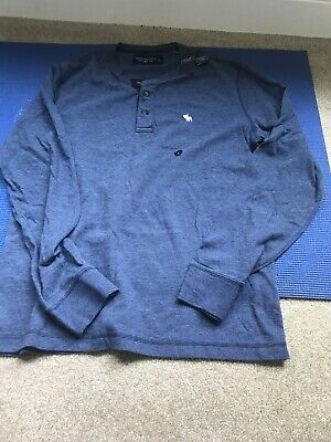 abercrombie fitch men long sleeve t shirt