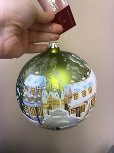 Large Hand Painted Bombay Ornament
