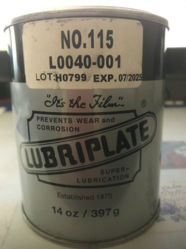Lubriplate No.115 Spec Grease 14 oz can prevents wear and corrosion