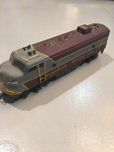 Canadian Pacific Electric Train Locomotive