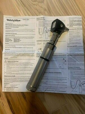 Welch Allyn Otoscope With Rechargeable Battery Insufflator Buble
