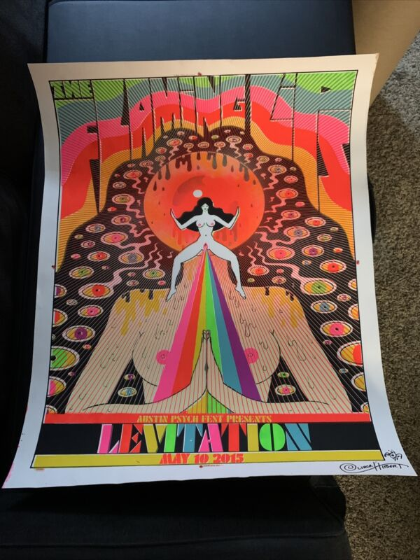 The Flaming Lips 2015 Levitation Print