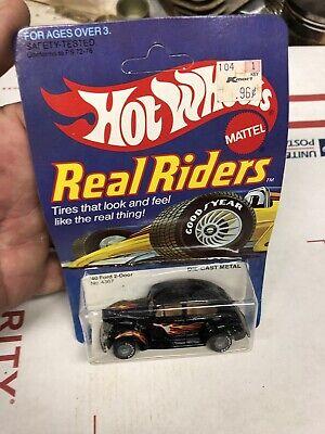 Vintage Hot wheels 40 Ford 2 Door 4368 Real Rider