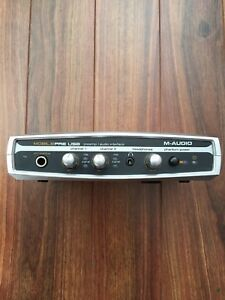 Mobilepre USB microphone preamp/interface