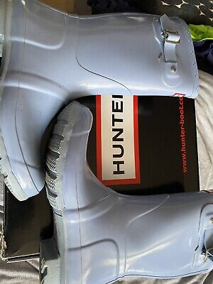 Hunter Wellies- With Box- Size 6/39