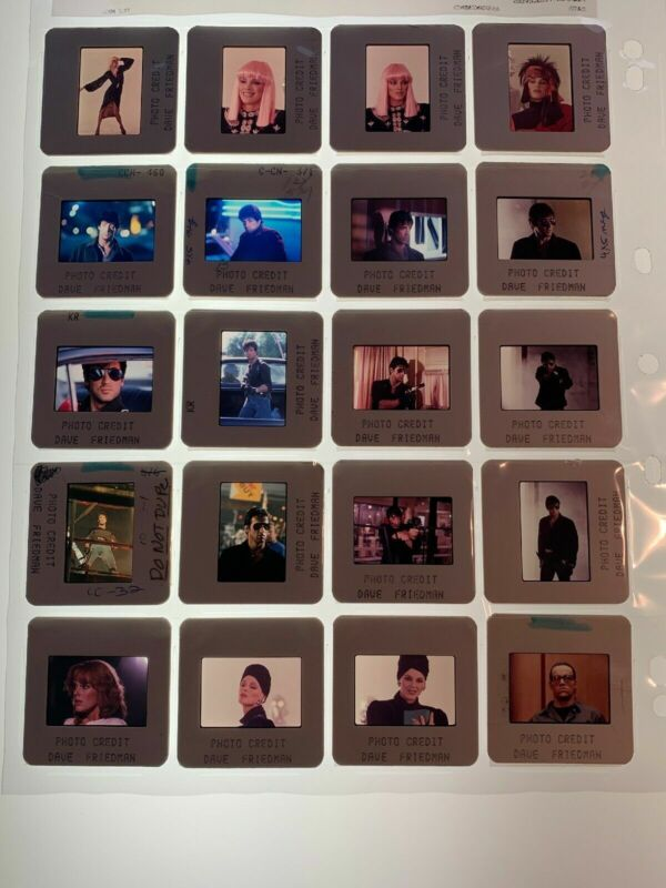 20 Cobra Movie 35mm Photo Slides Vintage Sylvester Stallone Lot #1