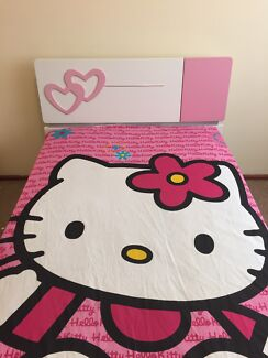 Kids bed frame and mattress in brand new condition