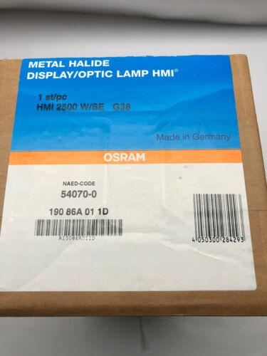 2500 Watt SE HMI Lamp (Osram) Still sealed in unopened box