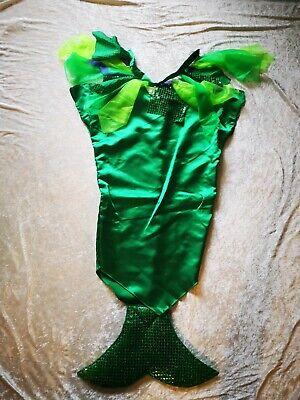 Karneval Faschin Kostüm Kleine Meerjungfrau Größe 140 / - Kleine Meerjungfrau Kostüme