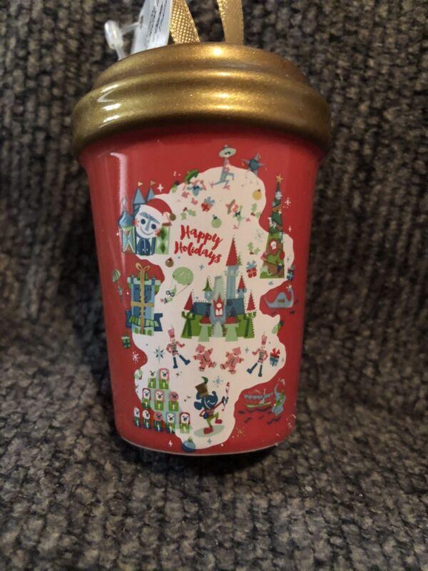 Disney Starbucks 2020 Happy Holidays Ornament Mug Tumbler