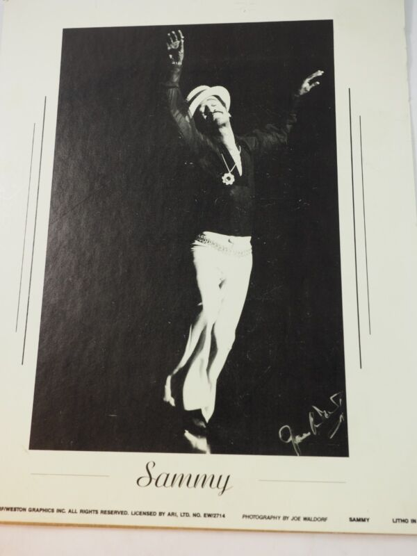 Sammy Davis Jr Dancing 1990 Joe Waldorf/Weston Graphics