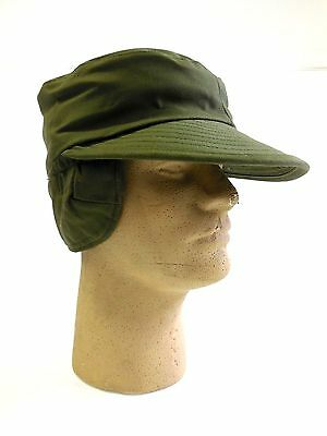 UNISSUED VIETNAM ERA U.S. NAVY INTERMEDIATE COLD WEATHER CAP (MEDIUM)