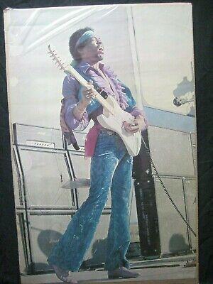 JIMI HENDRIX GUITARIST ROCK VINTAGE POSTER GARAGE 1974 CNG1436