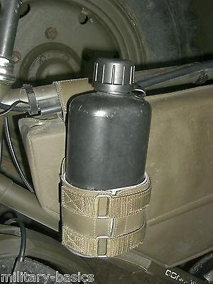 CH schweizer Armee Feldflasche 84 m. Feldflaschenbecher f. Armeefahrrad M93 Velo