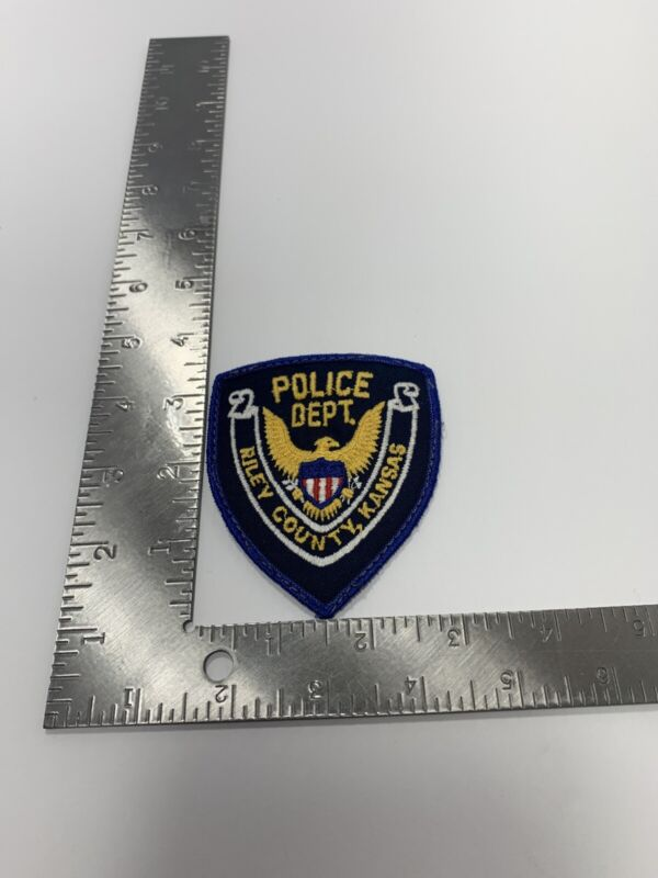 RILEY COUNTY KANSAS POLICE DEPARTMENT CLOTH PATCH