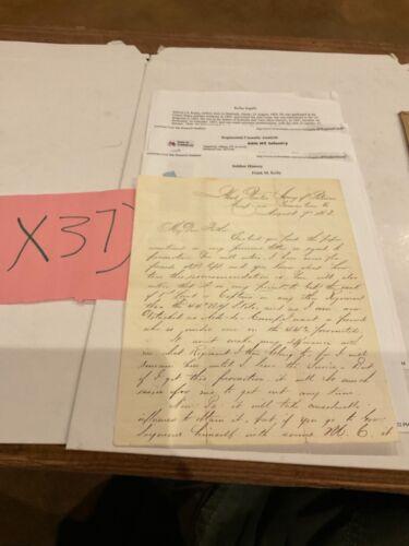 Civil War Letter Germantown Pa 1863 Gettysburg Veteran 44th NY Volunteers  37)