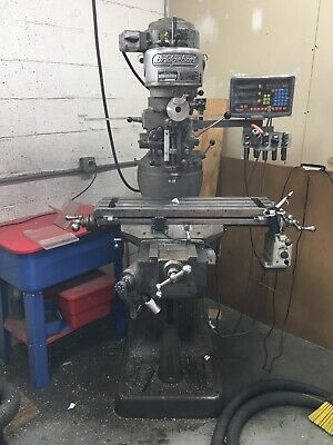 Bridgeport Vertical Knee Mill With Power Feed And Tractools Dro