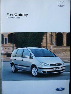 Usado, FORD GALAXY SALES BROCHURE Dated March 2003 comprar usado  Enviando para Brazil