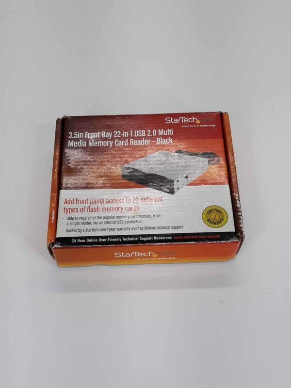Startech 35FCREADBK2 Internal Multi Media Card Reader