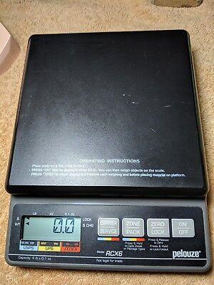 Pelouze Rate Calculating Digital Scalercx6