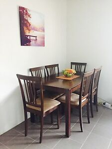 Rarely used Dinning table /6 chairs Dee Why Manly Area Preview