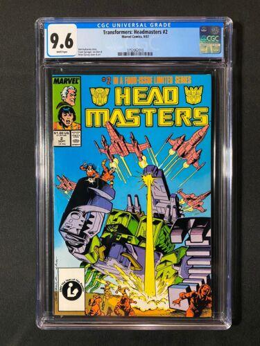Transformers: Headmasters #2 CGC 9.6 (1987)